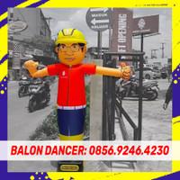 BALON SKY DANCER BALON JOGET   PAKET BALON + BLOWER 13 INCH 2METER