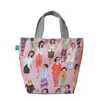 Totebag Kanvas Tas Wanita Tas Jinjing Kebaya Pink Kamalika Artprints