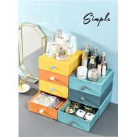Desktop storage box Rak kosmetik Kotak Penyimpanan Laci Storage