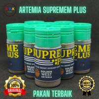 Artemia Supremeplus Supreme Plus Golden West Kultur Repack 10 Gram 10g