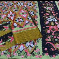 kain batik sarimbit tulis asli bahan katun trusmi cirebon