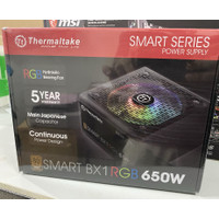 POWER SUPPLY THERMALTAKE 650W SMART BX1 RGB