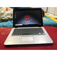 Laptop HP Elitebook 820 G3 Core i5 Gen6 RAM 8GB SSD 256 Murah Slim