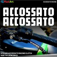 STIKER CUTTING ACCOSSATO RACING STICKER MOTOR WARNA CUSTOM ANTI GORES