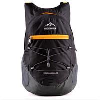 Tas Gunung Lipat Waterproof 17L Tas Backpack Hiking Camping Outdoor - Hitam