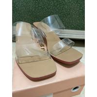 sandal heels wanita hak tahu 3cm