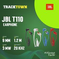 JBL T110 in-ear & Flat Cable 100% Original IMS