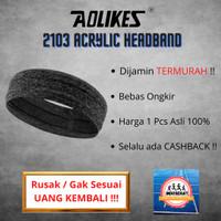 Aolikes 2103 Acrylic Headband - sport band - handuk kepala yoga , gym