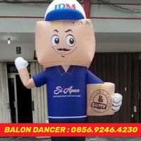 JUAL BALON GOYANG PROMOSI BALON SKY DANCER   BALON + BLOWER 13 INCH