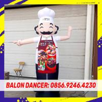 BALON SKY DANCER BALON GOYANG   PAKET BALON + BLOWER 13 INCH 2METER