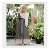 GAMIS TERBARU Mufida Dress S M L XL | Gamis Muslim Terpopuler | Fashio