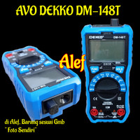 avometer digital dekko DM148C avo meter dm 148c auto