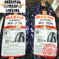 Ban Tubeless Belakang Beat Vario 125 150 Maxxis Diamond 90/90-14