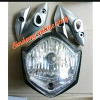 headlamp Reflektor lampu depan Vixion plus kupingan 2010-2013