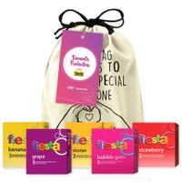 Joy Kit Fruity Punch - Paket Kondom Fiesta