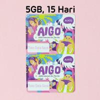 Voucher Kuota Data Axis Aigo 5GB, 15 Hari