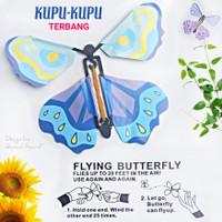 GROSIR MAINAN KUPU-KUPU TERBANG - FLYING BUTTERFLY SOUVENIR ULTAH ANAK