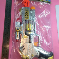 mainan pistol sound laser gun/pistol kantong/mainan anak