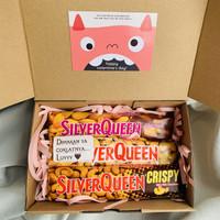 Kado Coklat SilverQueen / Valentine Chocolate Gift Box Hampers