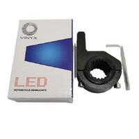 Bracket Breket Braket Crashbar Jepit Lampu LED Bar Motor Tembak Stang
