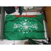 Bendera NU uk. 60x90 Bahan abutai