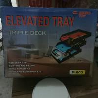 Bak surat ( Elevated Tray ) susun 3 Microtop