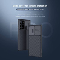 SAMSUNG NOTE 20 / NOTE 20 ULTRA SOFT CASE CAMERA PROTECT SLIDE COVER