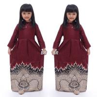 fashion anak perempuan gamis batik anak baju muslim anak perempuan TSc