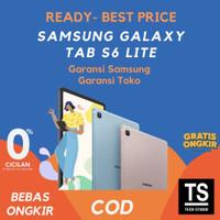[RESMI SEIN] Samsung Tab S6 Lite 128GB | 64GB Gray Blue Pink RESMI - 4GB 64GB, Gray