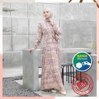 Homey dress Sabrina by Reyscarf Gamis Dewasa Bahan Katun Rayon Viscose