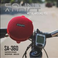 Speaker Sepeda SOUNDADDICT SA 360 Red - Bluetooth speaker Lifestyle