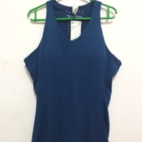 Baju Tank Tenis Wanita adidas ClimaChill Noble Indigo