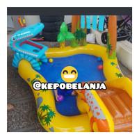 kolam renang dinosaurus kids play centre intex 57444 setara bestway