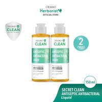 Secret Clean Paket Antiseptic Liquid Cairan Antiseptik 150ml - 2pcs