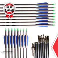Anak Panah Arrow Musen 7.5mm Spine 350 Pure Carbon MSTJ-100S