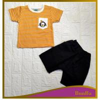 BunBa Set Bayi 1/2 - 3 tahun Baju Laki-laki IMK Motif Sanfrancisco
