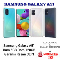 SAMSUNG GALAXY A51 6/128 GARANSI RESMI SEIN
