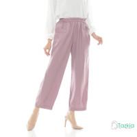 Bawahan Muslim Wanita   Celana Kulot Aladin Lavender   Tazkia Hijab