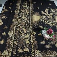 kain batik sarimbit tulis asli bahan Dobby trusmi cirebon