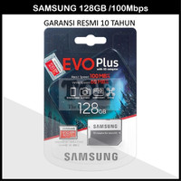 Original Samsung EVO Plus MicroSD 128 GB Micro SD 128GB Garansi Resmi