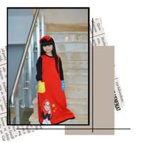 baju anak / baju anak murah / gamis kaos anak murah / gamis kaos anak - Orange, 10