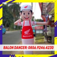 BALON PROMOSI SKY DANCER   PAKET BALON + BLOWER 13 INCH 2METER