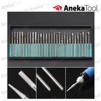 Alat Ukir Grinding Needle 30 Mata Grafir Bor Engrave Engraving Diamond