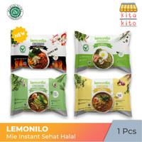 Mie Lemonilo Mie Instant Sehat (Goreng-Pedas Korea-Kari-Ayam Bawang)