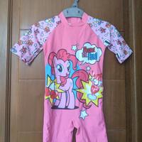 Baju Renang My Little Pony Pink - Preloved