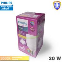 Lampu LED Bulb Philips LEDBright 20W 20 Watt 20Watt LED Bright Kuning