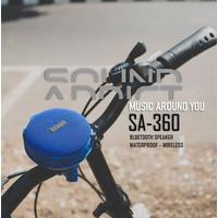 Speaker Sepeda SOUNDADDICT SA 360 Blue - Bluetooth speaker Lifestyle