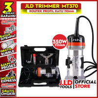 JLD Mesin Trimmer Profil Kayu Profile Router MT370 350W 110mm MT 370