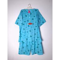 Baju Tidur/Piyama/Baby Doll Wanita Stelan 3/4 Jumbo XXXL , Good Apple