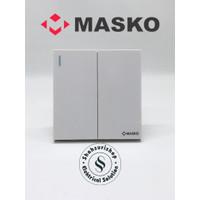 SAKLAR SERI DOUBLE AUSTIN MASKO A612 MINIMALIS PREMIUM QUALITY